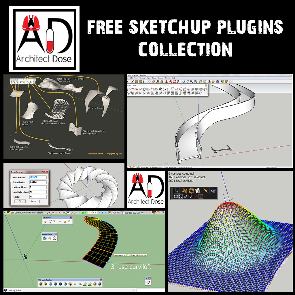 Architecture, Sketchup, Tutorials, Models