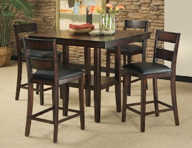 Pendelton 5 Piece Counter Height Dining Set
