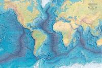 Mapa Mundial de los Fondos Marinos