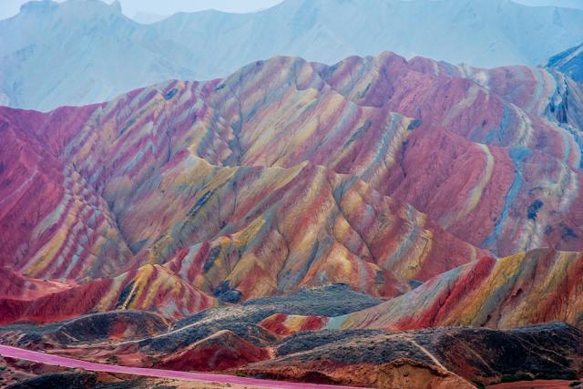 Rainbow Mountain, China