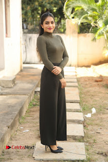 Tollywood Actress Punarnavi Bhupalam Latest Po Gallery in Black Trouser Pant at Pittagoda Movie Interview  0139.JPG