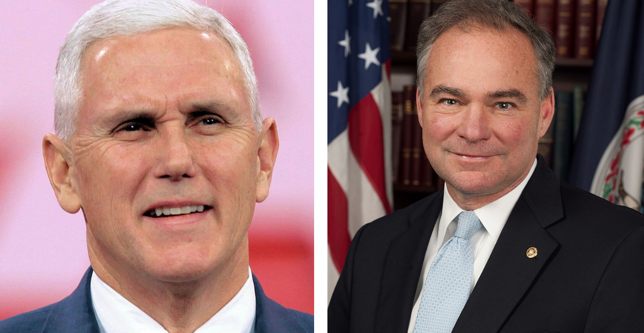 Mike Pence v. Tim Kaine