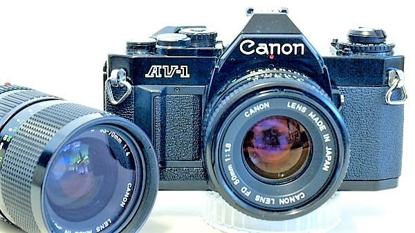 Canon AV-1 35mm SLR Film Camera