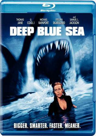 Deep Blue Sea 1999 BRRip 800MB Hindi Dual Audio 720p Watch Online Full Movie Download bolly4u