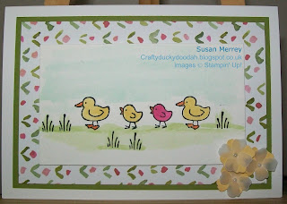 Stampin' Up! Made by Susan Merrey Independent Stampin' Up! Demonstrator, Craftyduckydoodah!, Barnyard Babies, July 2015,