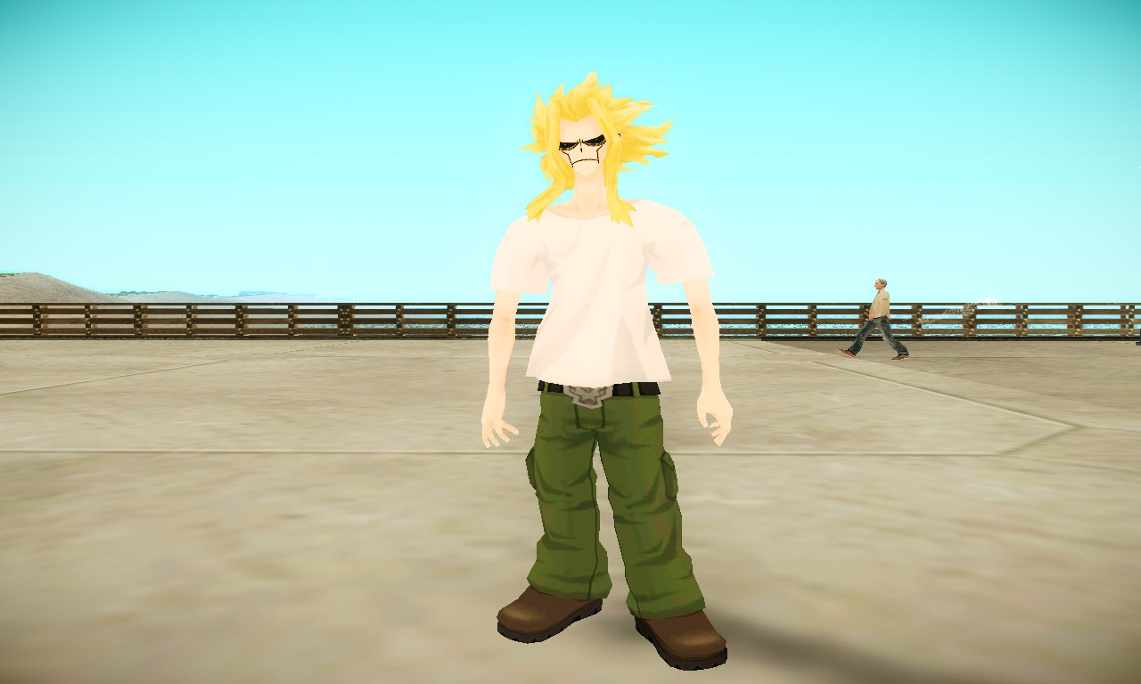 all might skinny