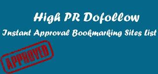 High DA Social bookmarking sites list