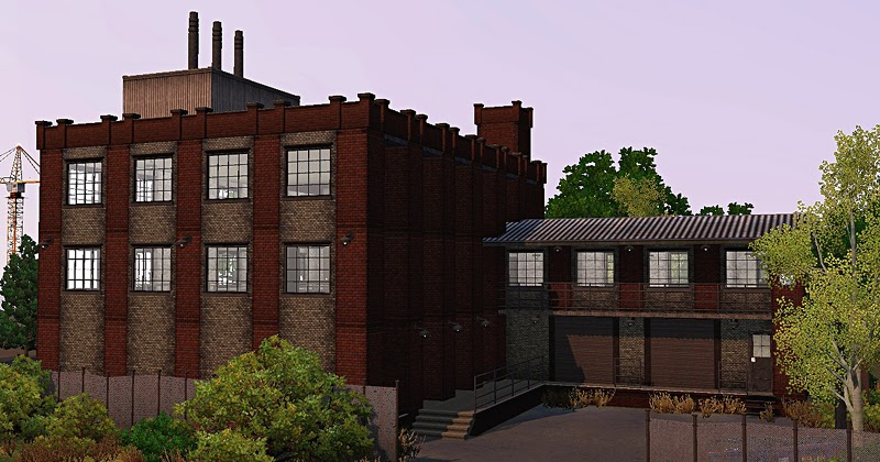 gelina 39 s sims 3 blog shiny things inc warehouse abandoned building