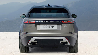 New 2018 Range Rover Velar SUV rear look
