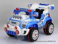 Mobil Mainan Aki Pliko PK9900N in Blue