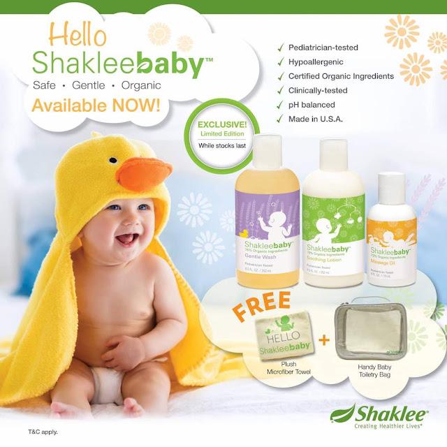 Set Penjagaan Kulit Bayi Yang Selamat, Lembut dan Organik: Sangat Sesuai Untuk Eczema dan Alahan