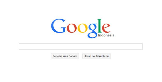tampilan dan logo baru google search gupitan