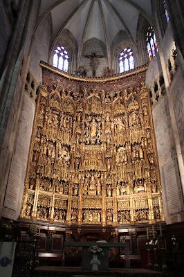 Altar Mayor de la Basílica de Lekeitio