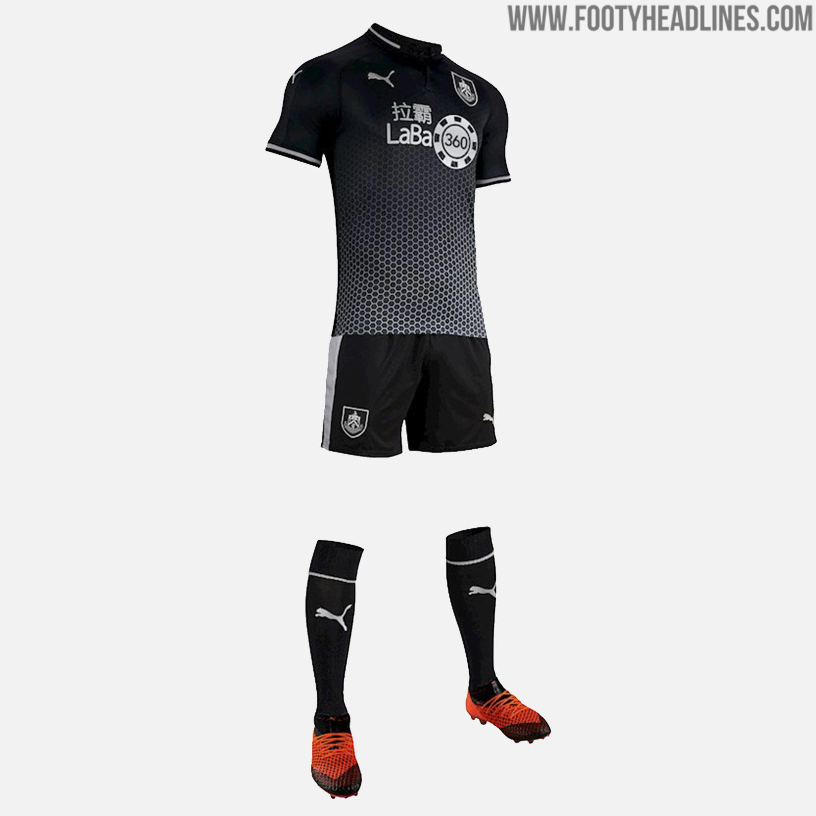Burnley 18-19 Away Kit Released - Footy Headlines