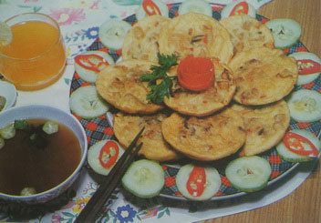 Bakwan Kuah Spesial Vegetarian