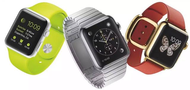 Apple Watch memiliki AMOLED display