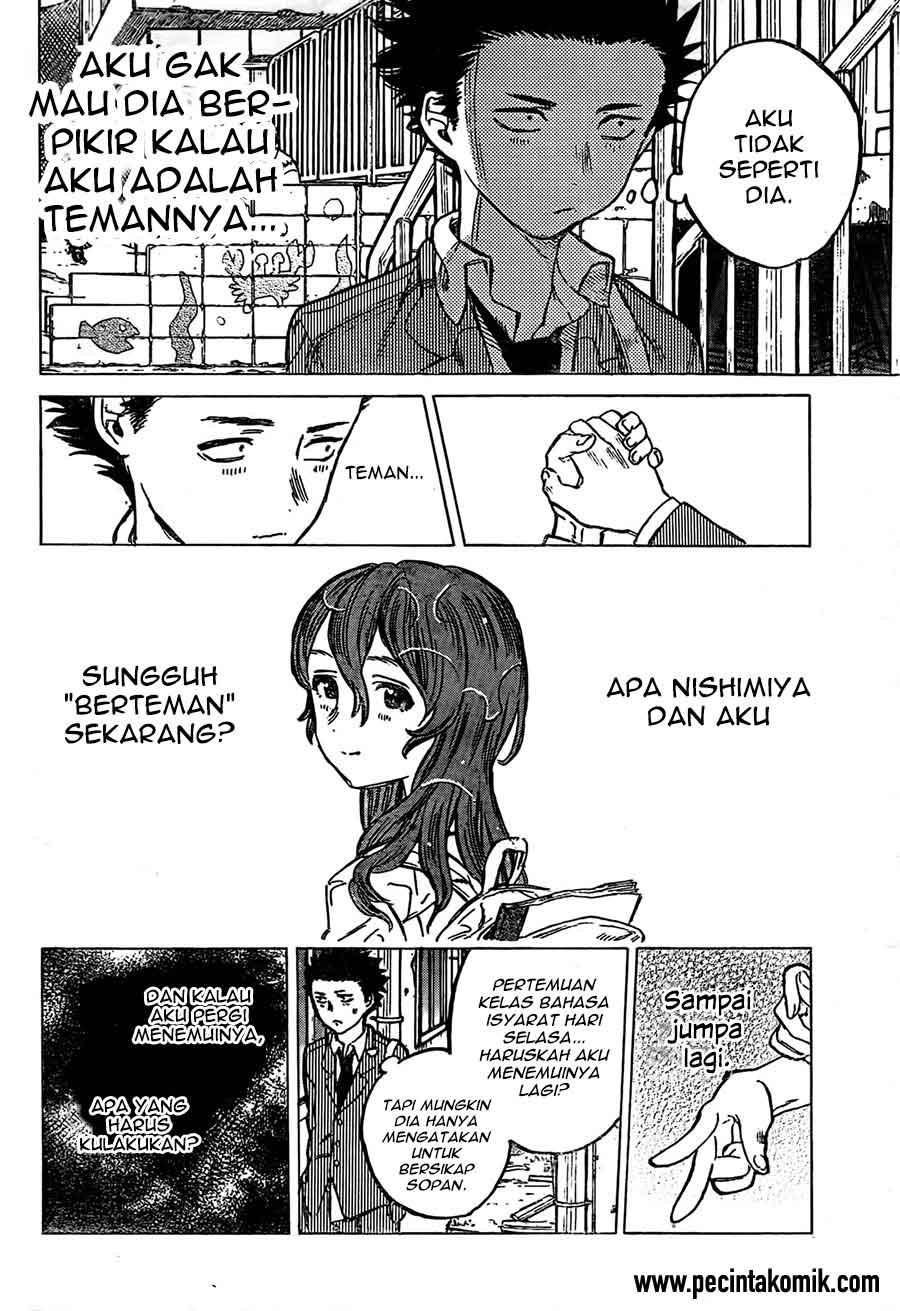 Koe no Katachi Chapter 08-5
