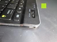 Seite: Sharon Galaxy NotePRO 12.2 Hülle mit magnetisch befestigter Bluetooth Tastatur und integriertem Touchpad | Ultraslim Schutzhülle | deutsches Layout | Tastatur herausnehmbar