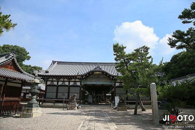 御香宮神社でお宮参り出張撮影