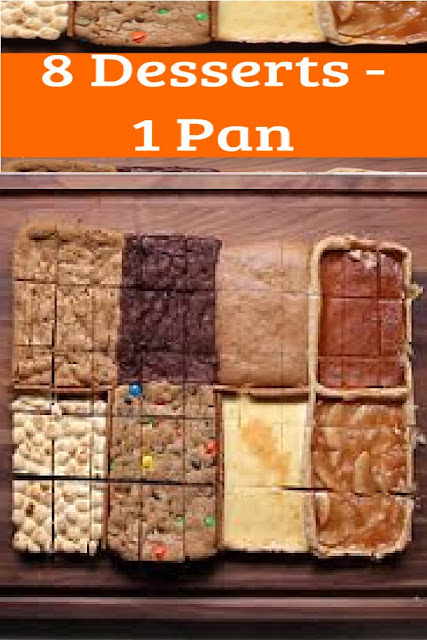 8 Desserts In 1 Pan