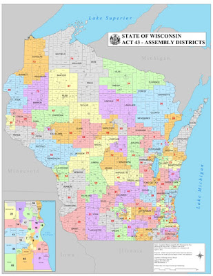 Wisconsin Assembly District Map Jake's Wisconsin Funhouse: So what would be a fairer Wisconsin