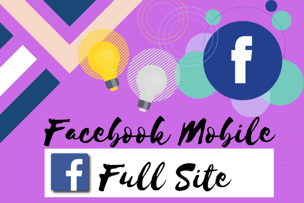 Facebook Mobile Full Site Login