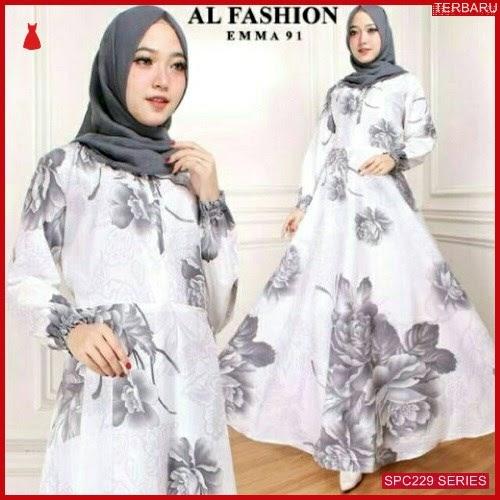 SPC229G44 Gamis Emma Long Maxy Dress Muslim Wanita | BMGShop