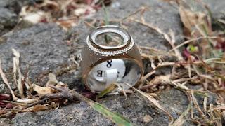 Ring Perak Hongkong 925 Batu Tanam Kombinasi Gold Silver Doff Indah PRK035