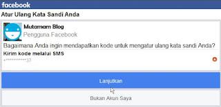 Mengatasi Facebook yang Lupa Kata Sandi