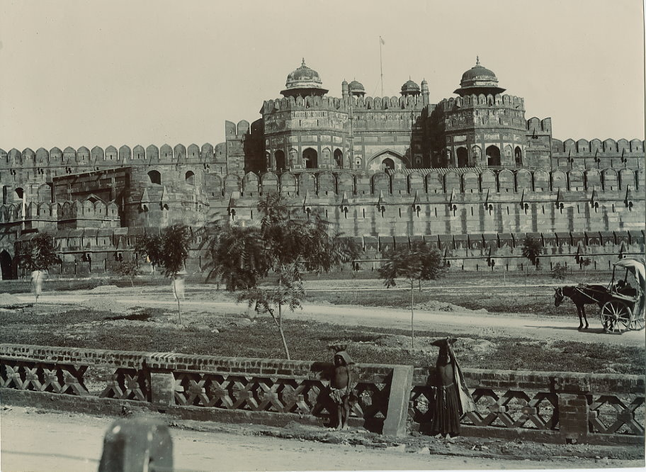 Agra Fort - c1908