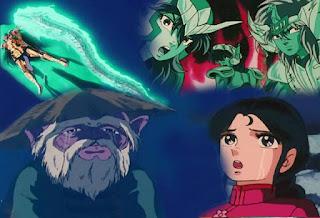 Batallas legendarias del anime: Shura de Capricornio vs Dragón Shiryu.