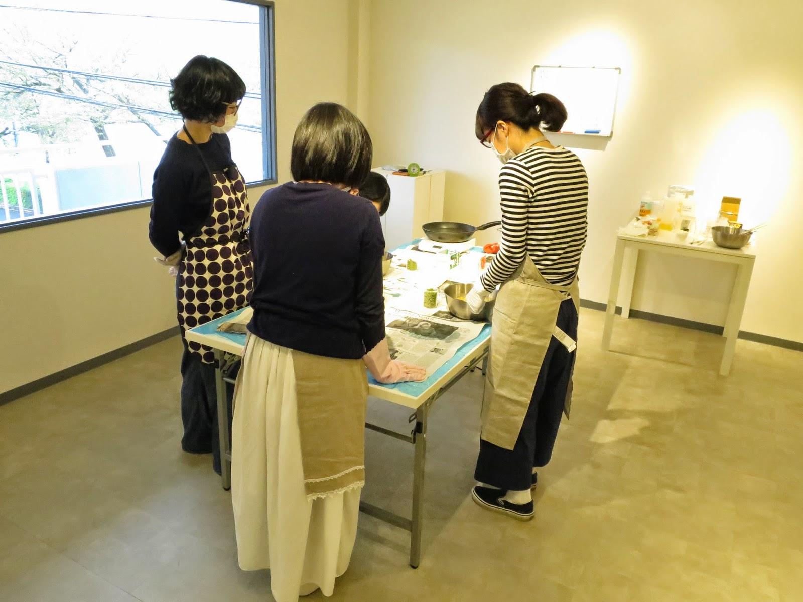 アザラシせっけん教室 at gallery Y