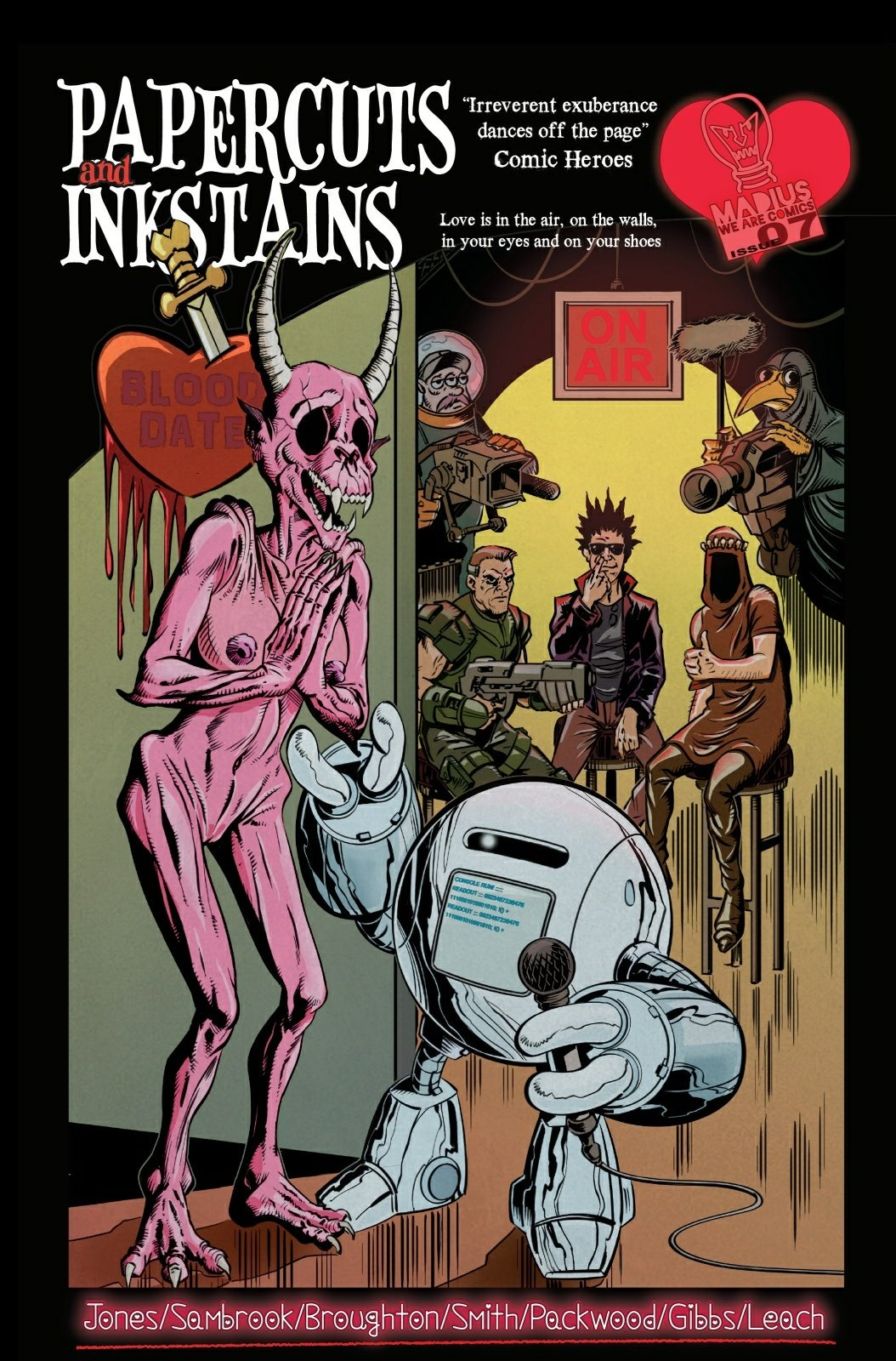 Image result for madius comics  issue paperback and inkstains 7