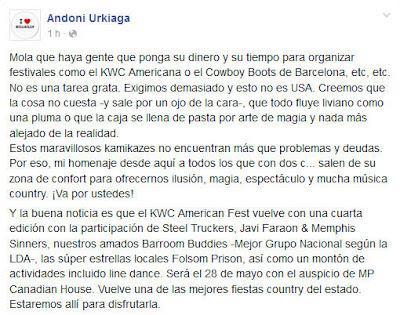 Andoni Urkiaga Fb