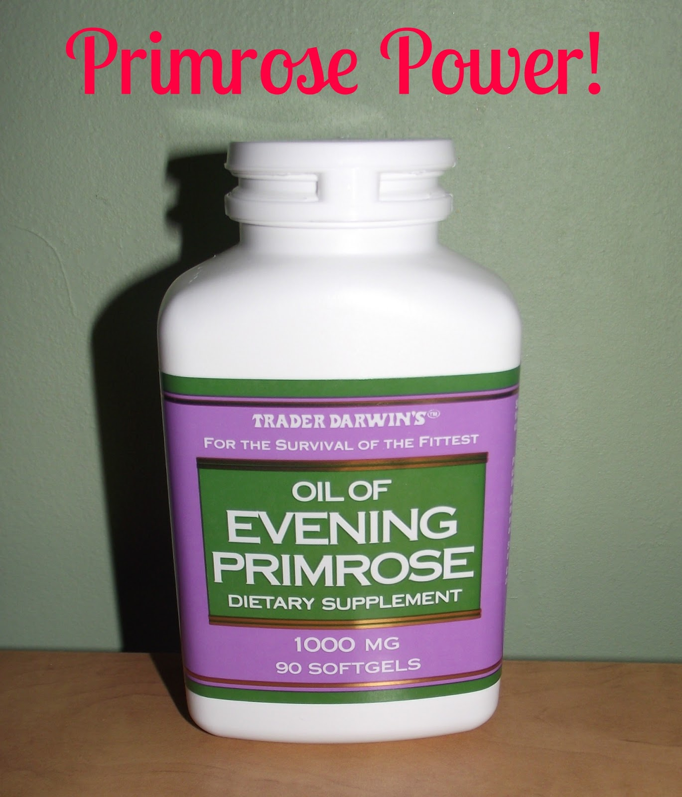 Evening primrose oil and hair