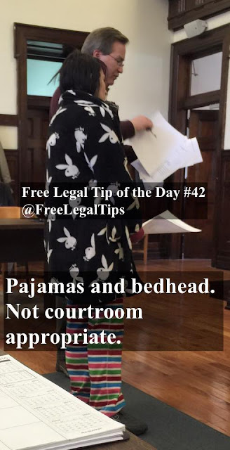Free Legal Tip of the Day #42 @freelegaltips
