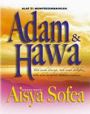 4th book : Adam Hawa by Aisya Sofea