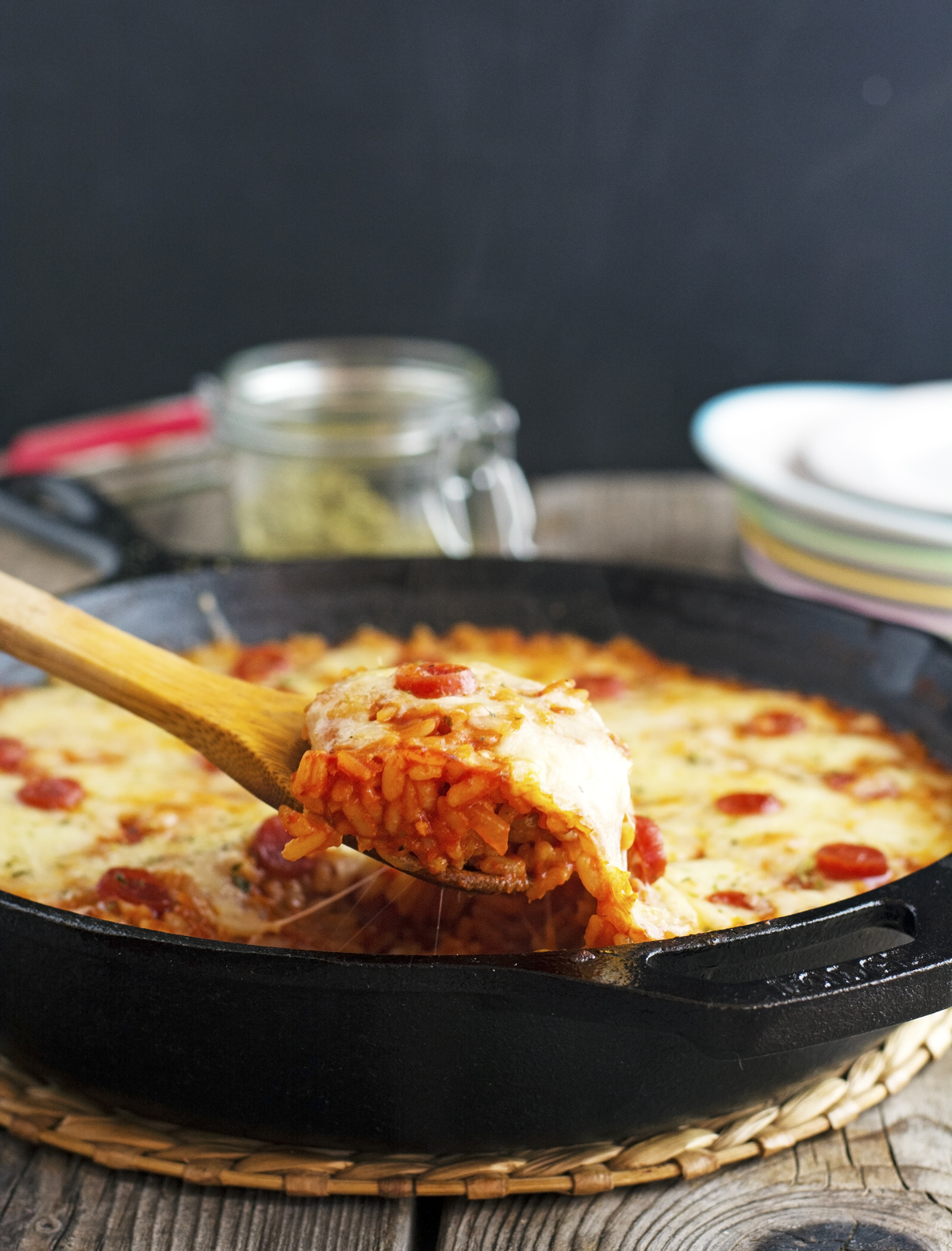One Pot Pizza Rice