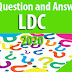 Download Weekly 100 Question and Answers for LDC 2020 - 06