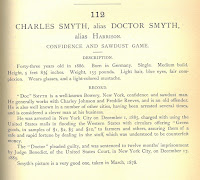 Description of Charles 'Doc' Smyth from 'Professional Criminals of America'