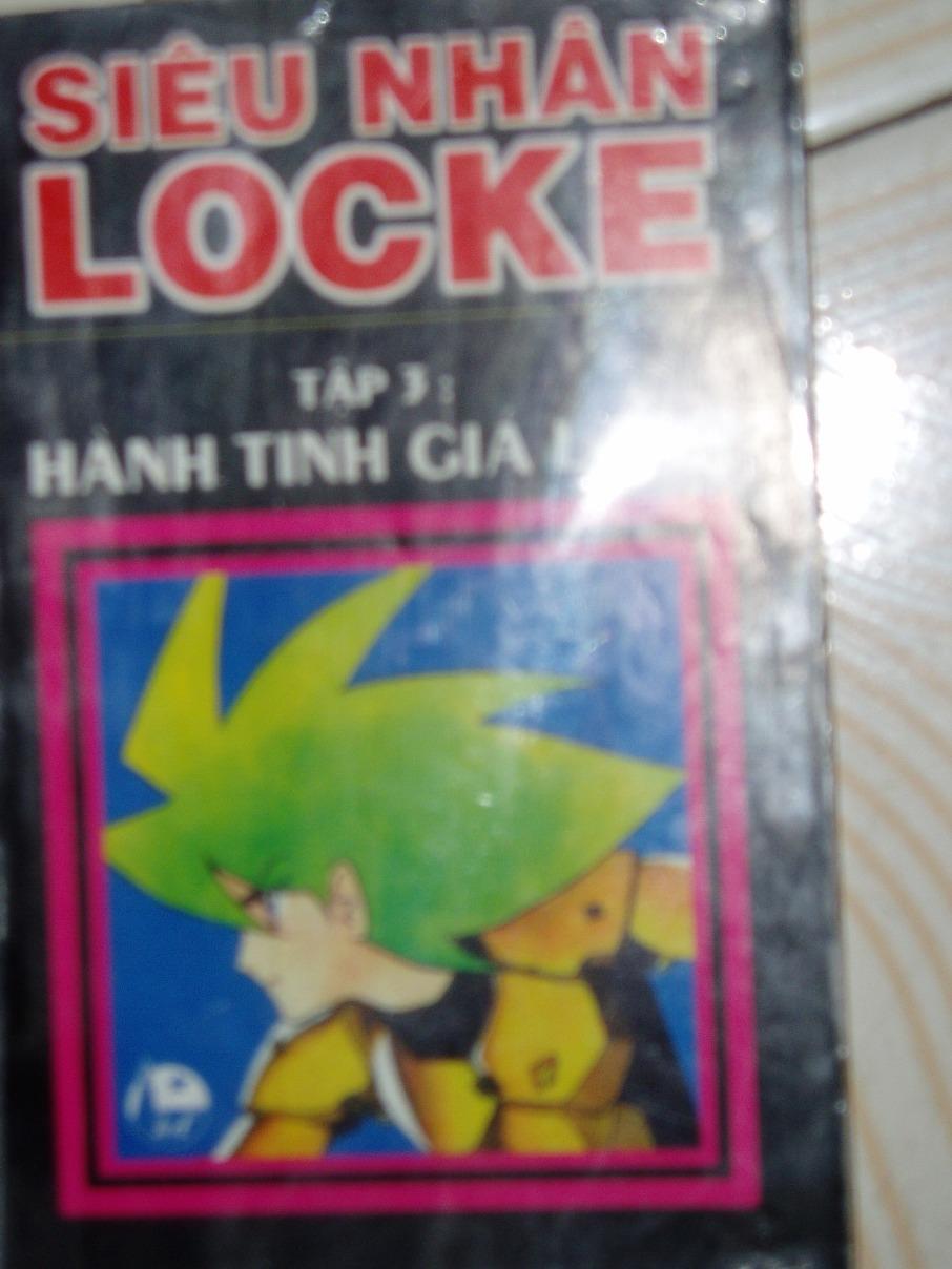 Siêu nhân Locke vol 03 trang 1