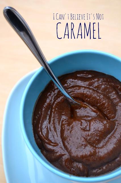healthier caramel sauce