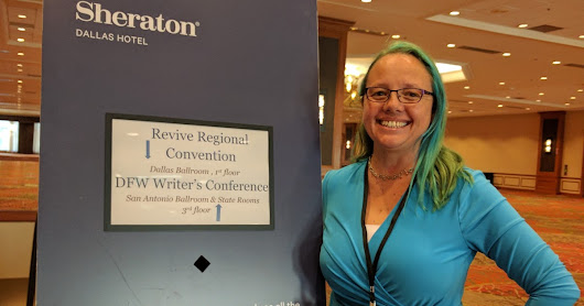 The Post Where I Talk About My First Writers Conference