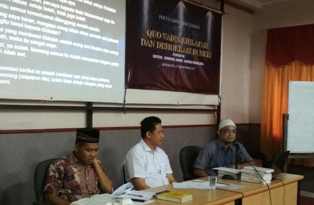 Debat Khilafah Seru di Semarang, Sang Profesor Duelkan Santri dengan Dosen Fisika