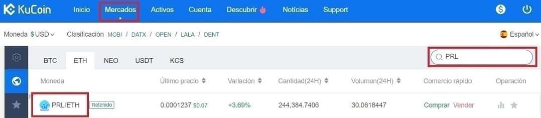 Comprar y Guardar en Wallet Criptomoneda Oyster (PRL) Tutorial Español Paso a Paso