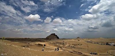 جانب من مقبر سقارة الفرعونية