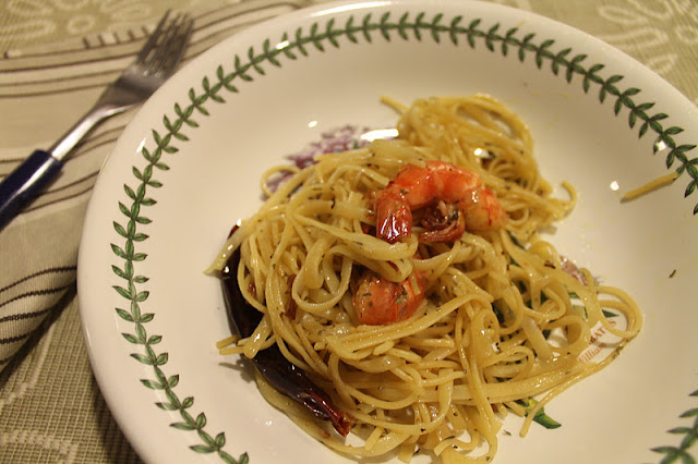 Oglio Olio Seafood Spagheti