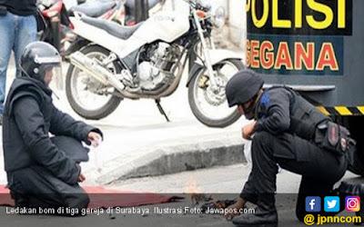 PGI: Jangan Sebar Foto dan Video Bom Surabaya