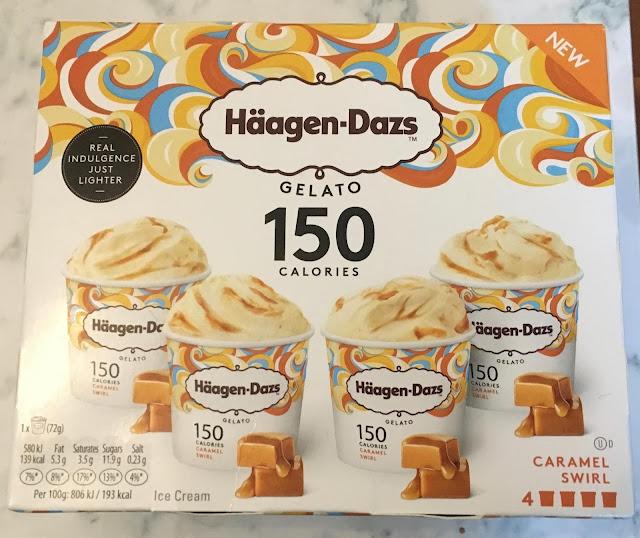 Haagen-Dazs Caramel Swirl Gelato