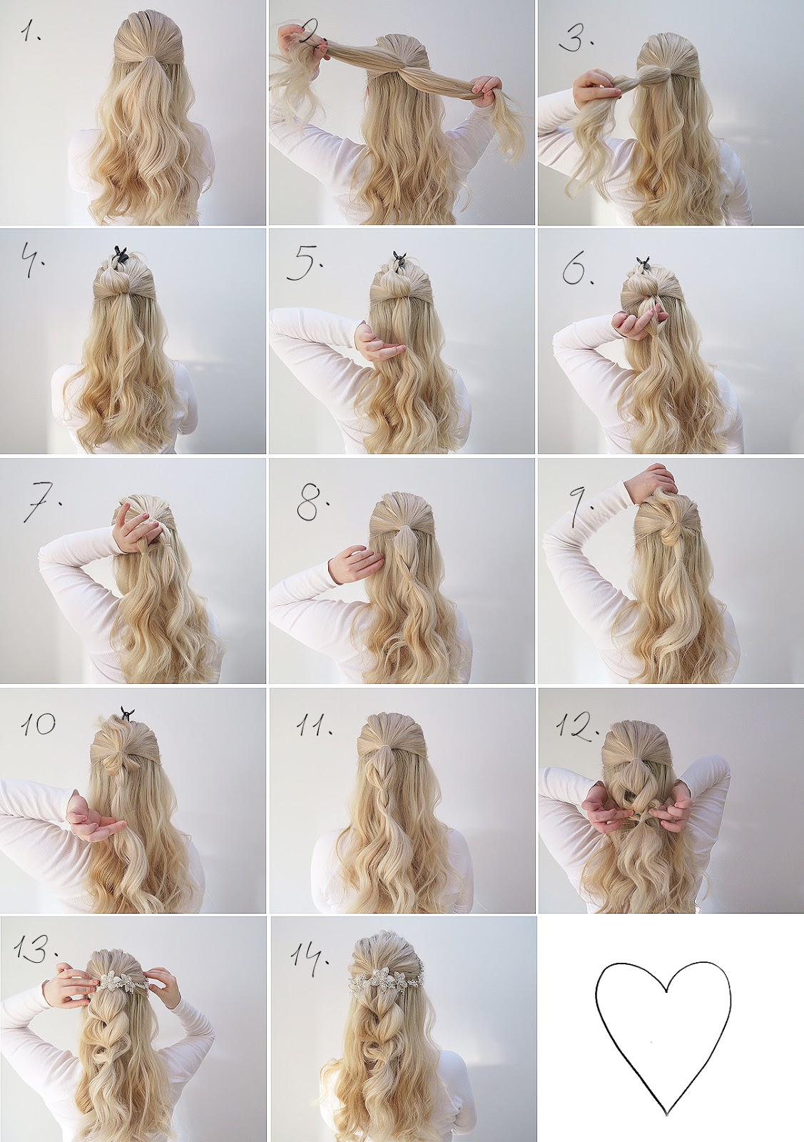 two simple hair tutorials | perfect for a wedding | grace and